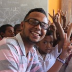 Bonifacio Cardoso Martins was employed by the program in 2016 as a translator. He is a linguistics student in Univeridade Nacional Timor Leste. He is an absolute gem - hard working, enthusiastic and fabulous at his job. We are convinced he will be President one day