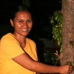 Elisabeth da Sousa - Elisabeth, a Timorese dental nurse worked with the program for 3 years. She has 2 young daughters.