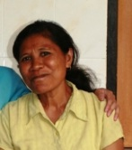 Idalina is a multi-talented lady who works in the clinic in Maubara - she works as a pharmaceutical dispenser, housekeeper and chef all rolled into one.