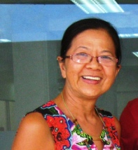 Mimi Chungue, a Timorese national, left TL as a child to live in Portugal and Australia. She has returned to TL to help build capacity in business and management. She works closely with the first lady and has helped our program with language interpretation and exposure. She's a busy lady!