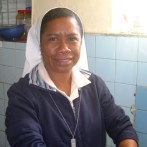 Sr Lourdes, as well as helping in the schools in Maubisse has started s 'Meals on Legs' Program, helping to feed the elderly, sick and young.