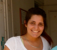 Teresa Souto, Portugal - Teresa was studying dentistry when she volunteered with us. She taught us the value of eating papaya seeds.