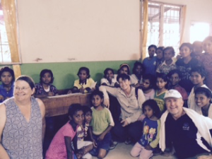 A visit to the orphanage is always fun!