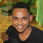 Nico Tolentino Faria Pires is a Timorese dental therapist who graduated from UNDIL, Timor's university. Originally from Baucau, he has been employed full-time by the TLDP since 2017.