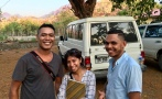 Tino, Ana Paula and Nico - 3 of our bright young team members.